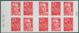 CARNET MIXTE  LUQUET / GANDON N° 1514   DATE 3.10.06 - Carnets