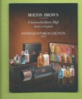 MOLTON BROWN :NOEL COLECTION * DOUBLE CARD * - Cartes Parfumées