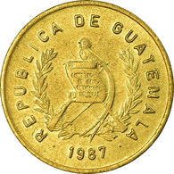 Monnaie, Guatemala, Centavo, Un, 1987, TTB, Laiton, KM:275.3 - Guatemala