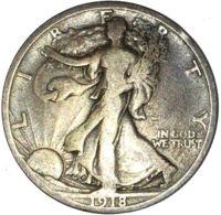 Ref. 1598-1824 - COI UNITED STATES . 1918. HALF DOLAR 1918 USA - Vereinigte Staaten