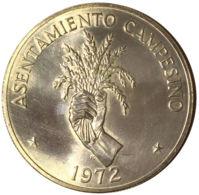 Ref. 1517-1723 - COI PANAMA . 1972. 1972 5 BALBOAS PANAMA SILVER PLATA. 1972 5 BALBOAS PANAMA SILVER PLATA - Panamá