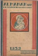 Almanak Van OLVr Van Het H. Hart - Missionarissen Borgerhout - 1932 - Livres, BD, Revues