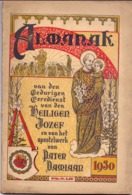Almanak Van Den Heiligen Jozef , Apostelwerk Van Pater Damiaan - Leuven - 1930 - Livres, BD, Revues
