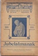 Almanak - Jubelalmanak Zending Paters Kapucienen - Punjab Ubangi - 1921 - Boeken, Tijdschriften, Stripverhalen