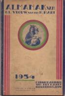 Almanak Van OLVr Van Het H. Hart - Missionarissen Borgerhout - 1934 - Boeken, Tijdschriften, Stripverhalen