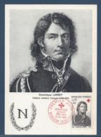 France - Carte Maximum - Croix Rouge - Dominique Larrey - Médecin Français - 1964 - Maximum Cards