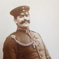 MOERCHINGEN - H. ENDERICH - DEUTSCHER MANN DAZUMAL - STOLZER OFFIZIER MIT AUSZEICHNUNGEN UND SAEBEL - Guerra, Militari