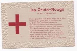 RARE CARTE La CROIX ROUGE 1914 AYANT VOYAGEE - Guerre 1914-18