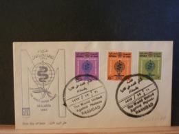 A11/811AB IRAK FDC   1962  MALARIA - Ziekte