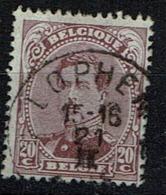 140  Obl Relais Lophem - 1915-1920 Albert I