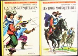 Alexandre Dumas - Les Trois Mousquetaires - Tomes 1 & 2 - Idéal Bibliothèque - ( 1976 ) . - Bücher, Zeitschriften, Comics