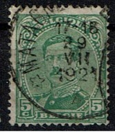 137A  Obl Relais Matagne-la-Grande - 1915-1920 Albert I