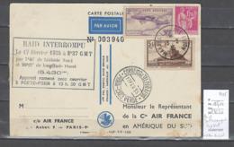 France - Amerique Du Sud - Raid Interrompu Au Cap Vert - 1935 - Airmail