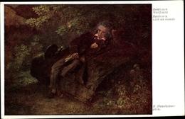 Artiste Cp Hausleitner, R., Komponist Ludwig Van Beethoven, Weltflucht - Historical Famous People