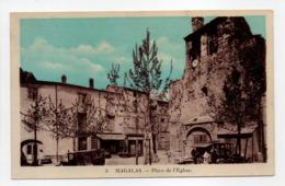 - CPA MAGALAS (34) - Place De L'Eglise - Edition ROUAUD N° 5 - - Francia