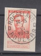 COB 118 Oblitération Centrale ROESELARE - ROULERS D - 1912 Pellens