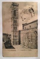 V 10960 Firenze - Il Campanile Di Giotto - Firenze