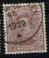 140C  Obl Relais Montignies-lez-Lens - 1915-1920 Albert I