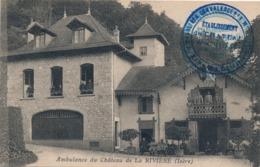 I179 - 38 - LA RIVIERE - Isère - Ambulance Du Château De La Rivière - Francia