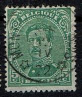 137A  Obl Relais Montroel-Au-Bois - 1915-1920 Albert I
