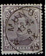 139A  Obl Relais Muno - 1915-1920 Albert I