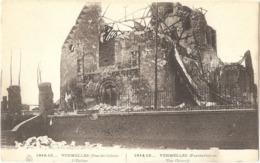 Dépt 62 - VERMELLES - L'Église - (ruines 1914-15) - E. Le Deley, Imp.-Édit. - Altri Comuni
