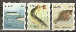 Aland 1989 Poisson Fish Set Complete MNH ** - Aland