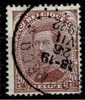 140  Obl Relais Oisquerq - 1915-1920 Albert I
