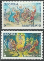 1998Georgia297-297Europa Cept4,00 € - Europa-CEPT