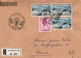 O20  Canalisation De La Moselle FDC Recommandé Luxembourg 1964  TTB - European Ideas