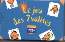 Jeu  Des 7  VALISES 32 Cartes Publicitaire Nivéa Sun - Playing CardsTBE - 32 Cartes