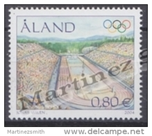 Aland - 2004 Yvert 240, Olympic Summer Games, Athens Greece - MNH - Aland