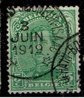 137  Obl Relais Ophain-Bois-Seigneur-Isaac - 1915-1920 Albert I