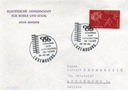 O21  CECA - EGSK  Congrès Sur L'utilisation De L'acier 1964 Luxembourg   TTB - European Ideas