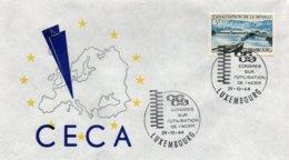 O22  CECA - EGSK  Congrès Sur L'utilisation De L'acier 1964 Luxembourg   TTB - European Ideas