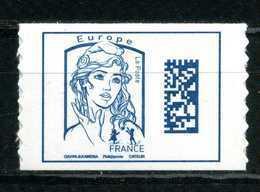 ADHESIF N° 1216 DATAMATRIX EUROPE DE FEUILLE SANS LE GRAMMAGE NEUF** - 2013-... Marianne Van Ciappa-Kawena