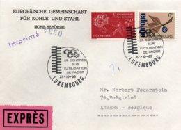 O23  CECA - EGSK  Congrès Sur L'utilisation De L'acier 1964 Luxembourg Expres   TTB - European Ideas