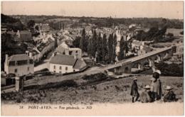CPA 29 - PONT-AVEN (Finistère) - 78. Vue Générale - ND (petite Animation) - Pont Aven