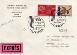 O25  CECA - EGSK  Congrès Sur L'utilisation De L'acier 1964 Luxembourg Expres   TTB - European Ideas