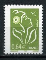 FRANCE .Timbre Variété N° 3756 Ab Y.T. Ou 3742 IIb MAURY Lamouche 0,64e Phosphore A Gauche Neuf ** - Plaatfouten En Curiosa