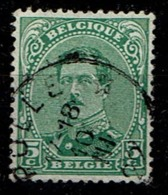 137A  Obl Relais Pulle - 1915-1920 Albert I