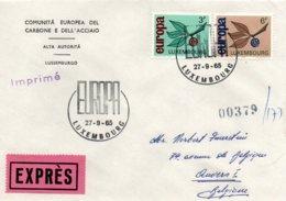 O27  Europa 1965 Luxembourg Expres    TTB - European Ideas