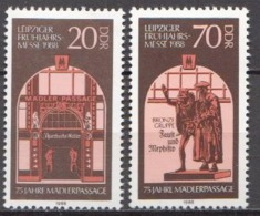Germany / DDR MNH Pair - Art