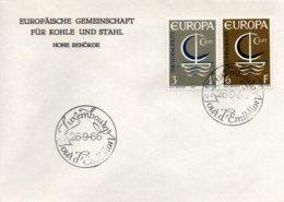 O30  Europa 1966 Luxembourg    TTB - European Ideas