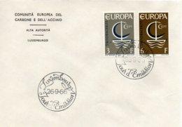 O31  Europa 1966 Luxembourg    TTB - European Ideas