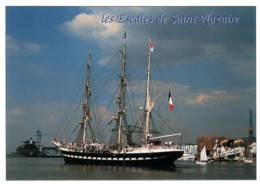 """CPM - VOILIER - Le """"BELEM"""" - Port De ST NAZAIRE ... - Edition Jos Le Doaré - Voiliers"""