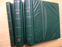 3 Leuchtturm Binder (2 Drehstab + 1 Klemmbinder) Grün (12542) - Album & Raccoglitori