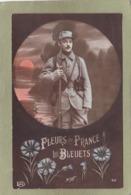 FLEURS DE FRANCE  LES BLEUTS - Guerre 1914-18