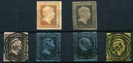 Alemania Nº 2/3, 3/5. Año 1850/6 - Preussen (Prussia)