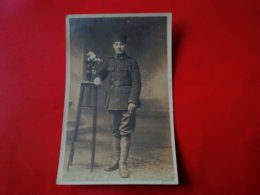 CARTE PHOTO SOUVENIR D ALLEMAGNE MILITAIRE - Guerre 1914-18